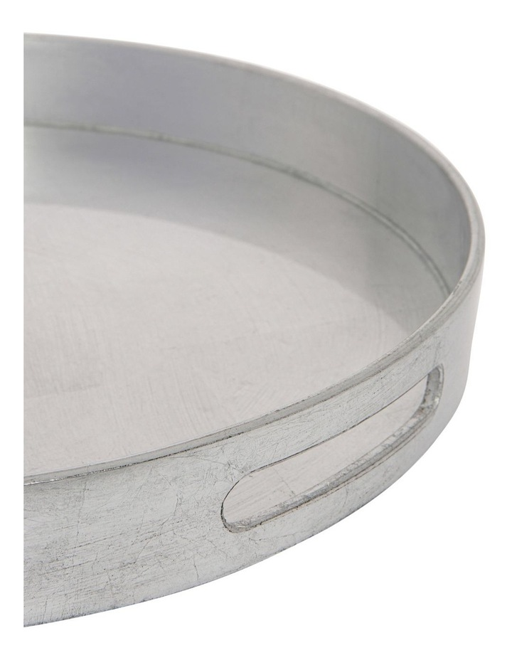 Round Silver Tray 37cm image 2