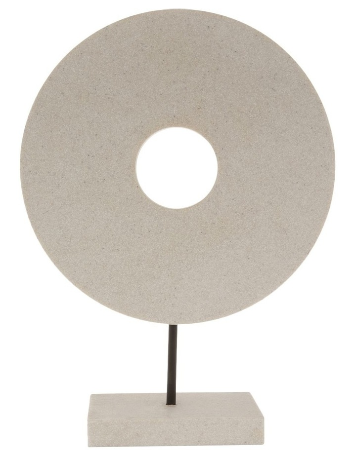Resin Circular Sculpture 34cm image 1