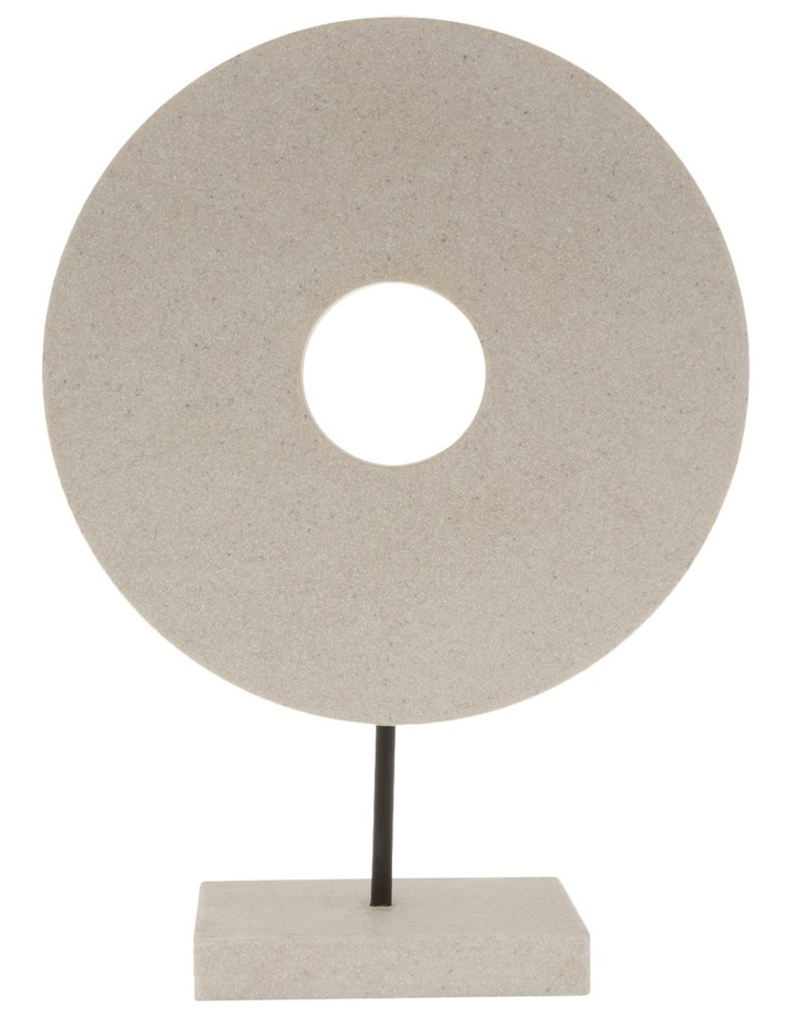 Resin Circular Sculpture 34cm image 1