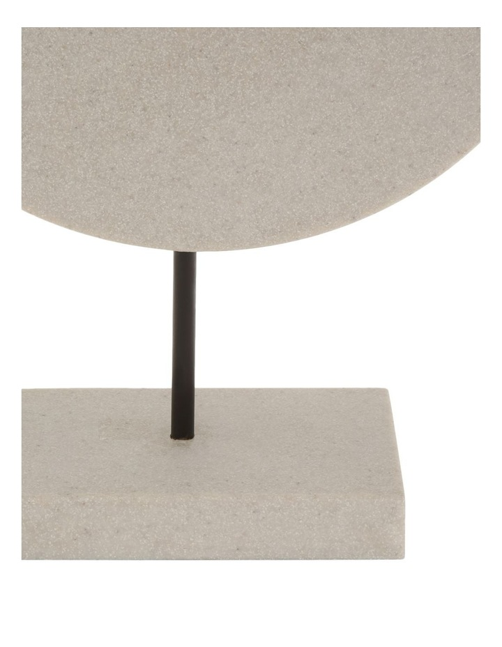 Resin Circular Sculpture 34cm image 2