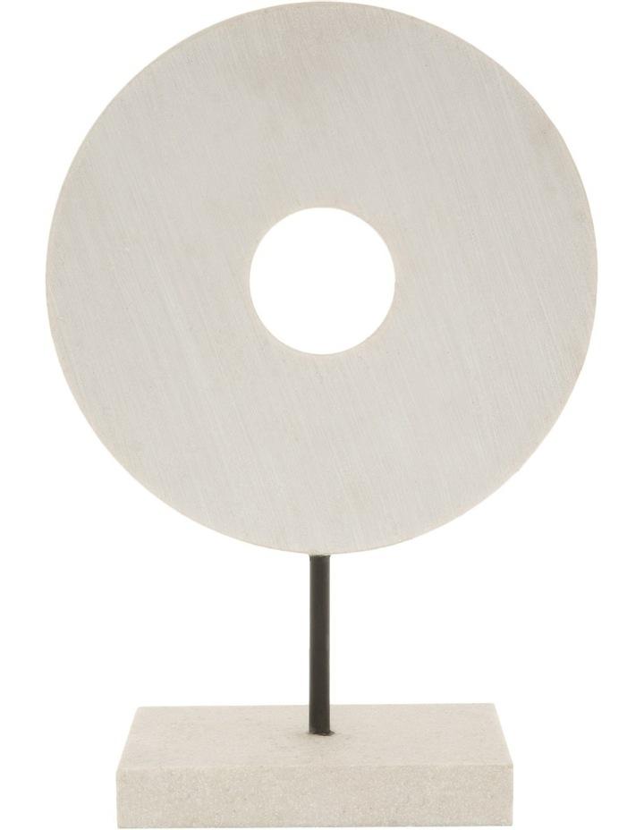 Resin Circular Sculpture 30cm image 1