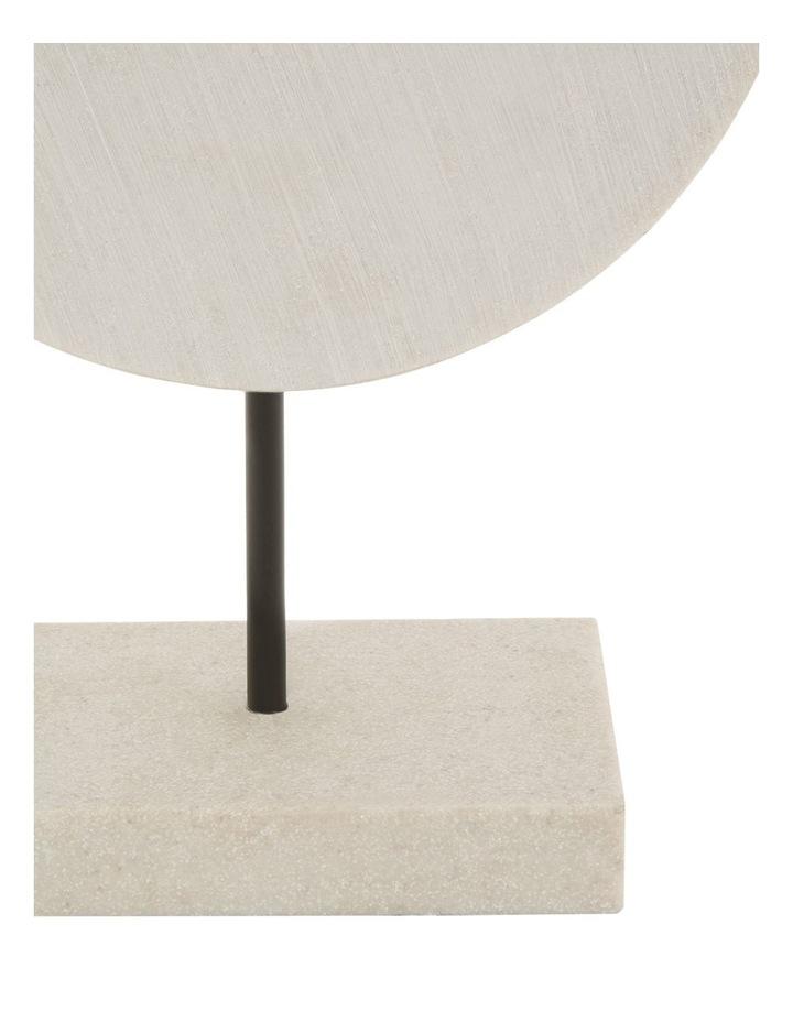 Resin Circular Sculpture 30cm image 2