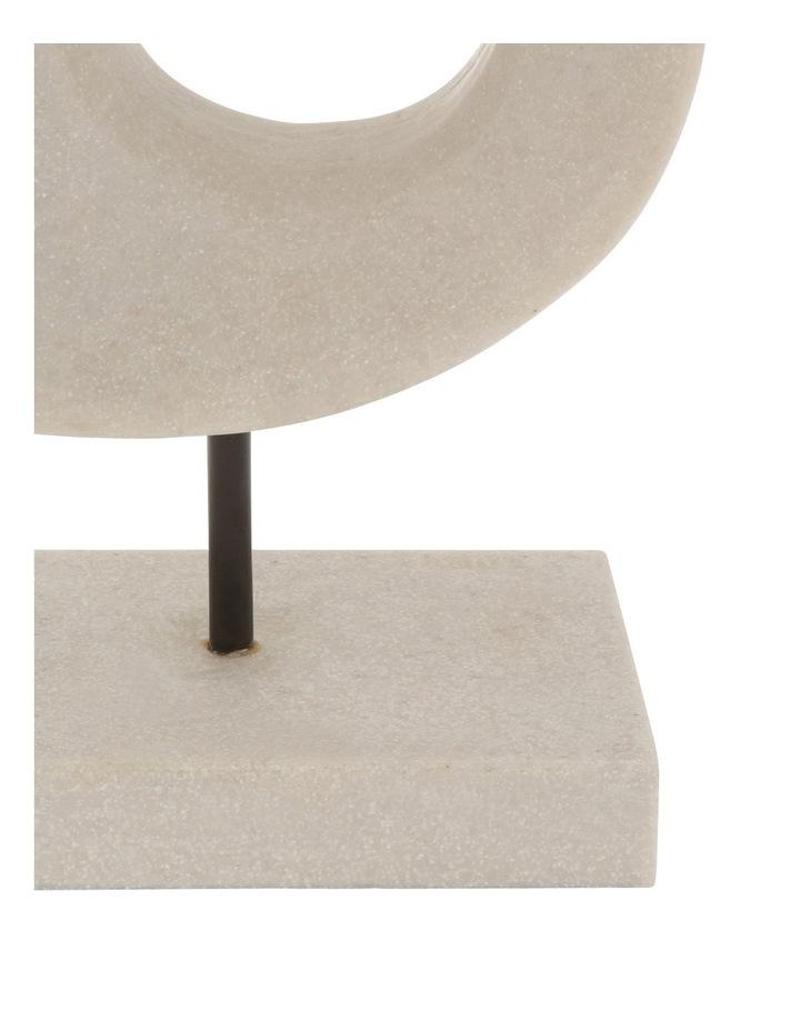Resin Organic Linear Sculpture 25cm image 2