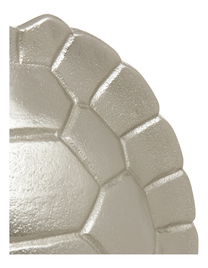Silver Tone Tortoise Shell Sculpture 26.5cm image 3