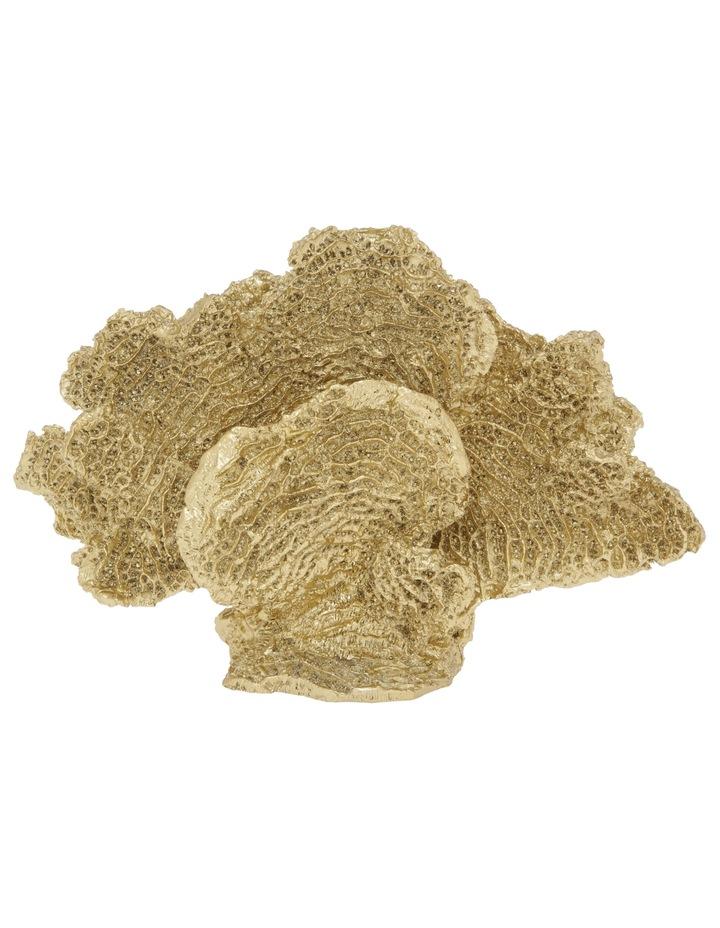 Coral Sculpture Gold image 1