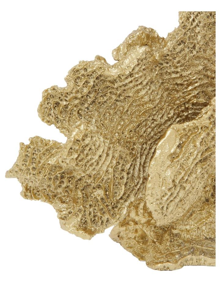 Coral Sculpture Gold image 2