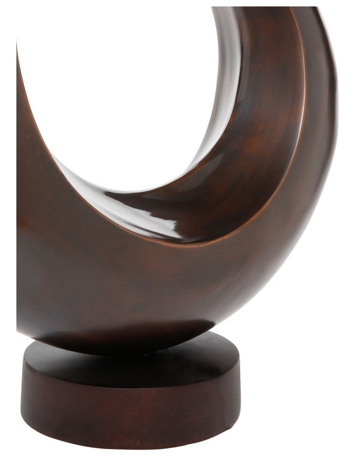 Circle Sculpture on Stand 36x41cm image 3