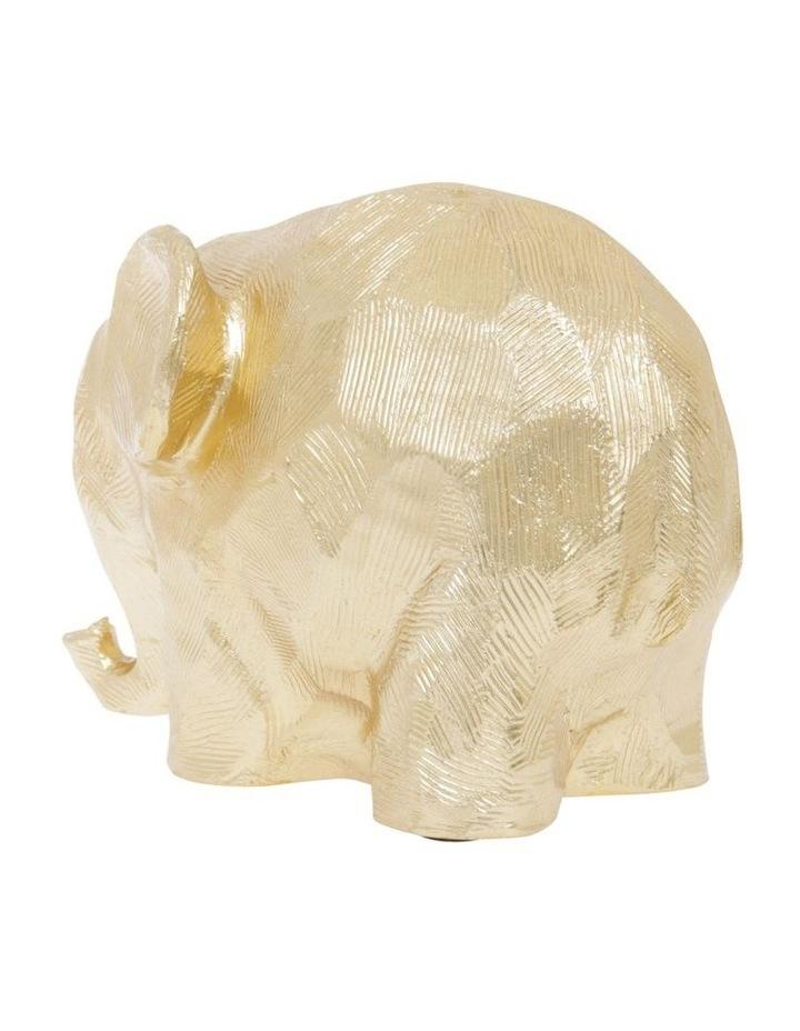 Gold Elephant Figurine image 2