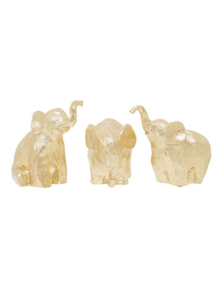Gold Elephant Figurine image 4