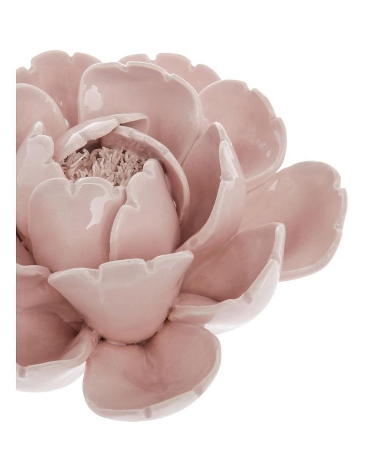 Ceramic Flower Sculpture - Rose 15cm image 3