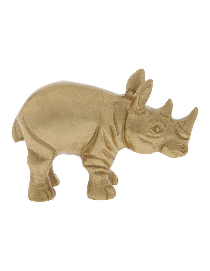 Decorative Rhino image 1