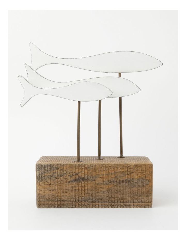 Matheson Fish Sculpture 30cm image 1