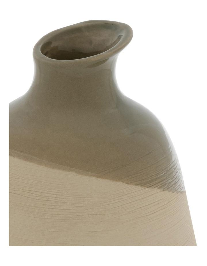 Hand Glazed Ceramic Small Vase image 2