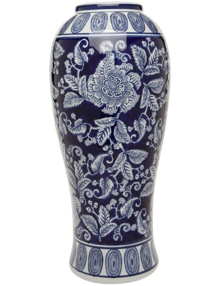 Hand-painted Ceramic Urn 21x44cm image 1