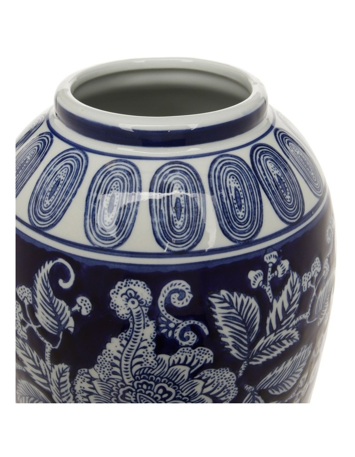 Hand-painted Ceramic Urn 21x44cm image 2