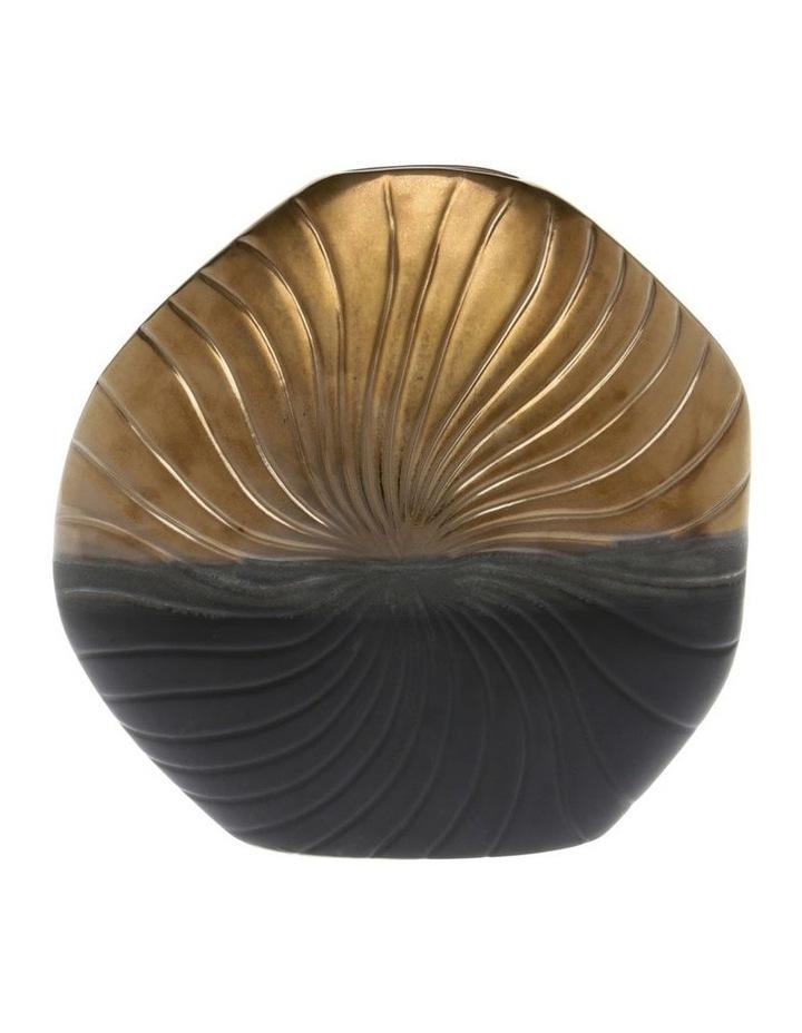 Textured Stoneware Vase - 23cm image 1