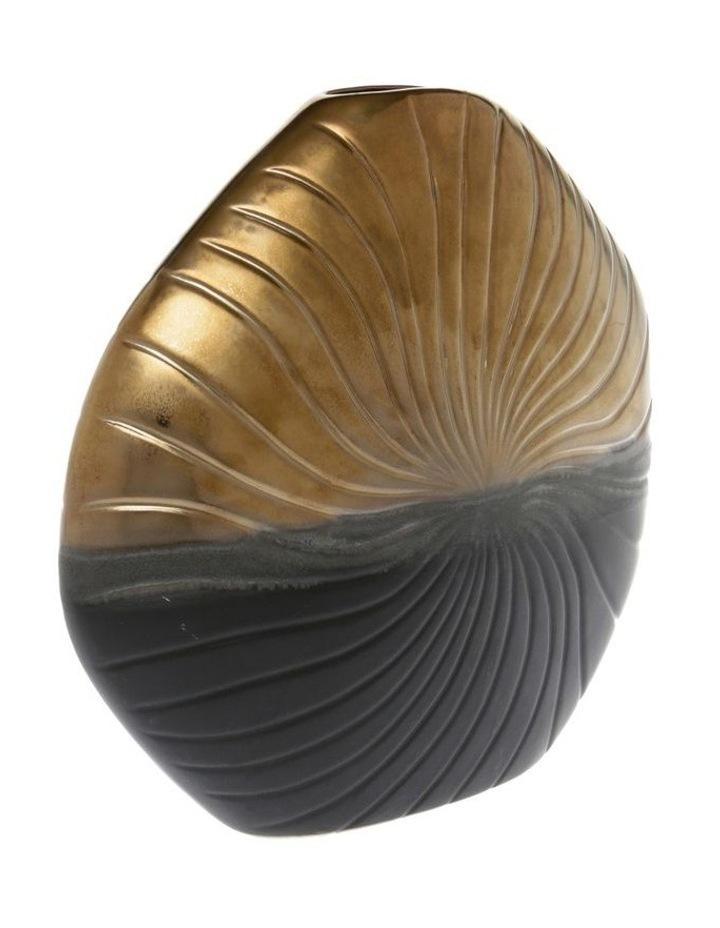 Textured Stoneware Vase - 23cm image 2