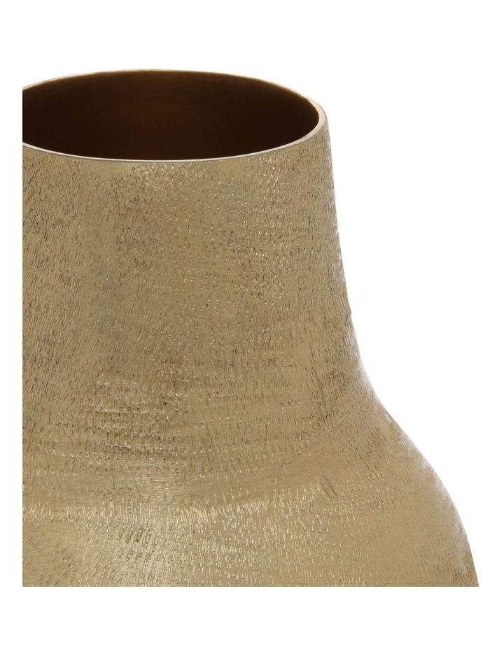 Gold Plated Vase 18cm image 2