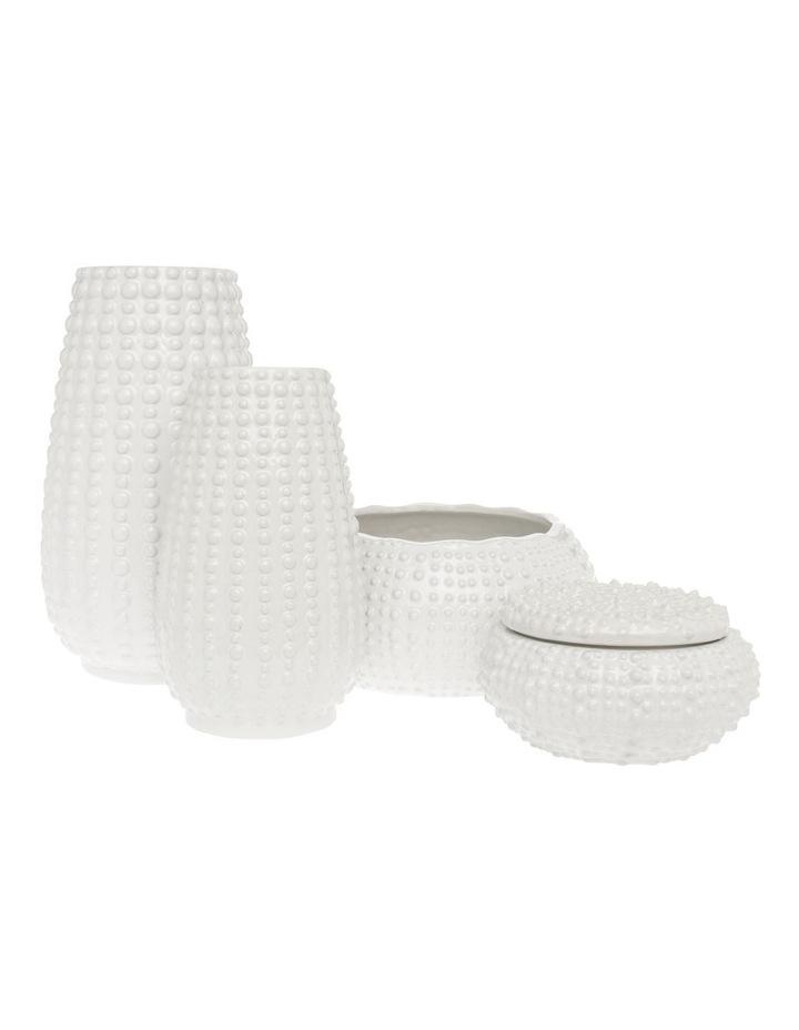 Dotted Stoneware Vase 31 cm image 3