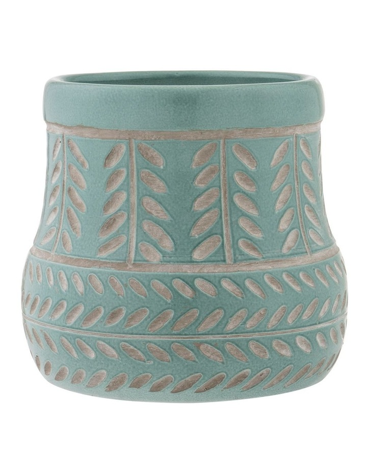 Bodil Vase Sage Green 20x22cm image 1
