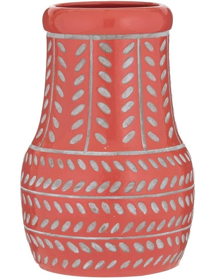Bodil Vase Coral 20x30cm image 1