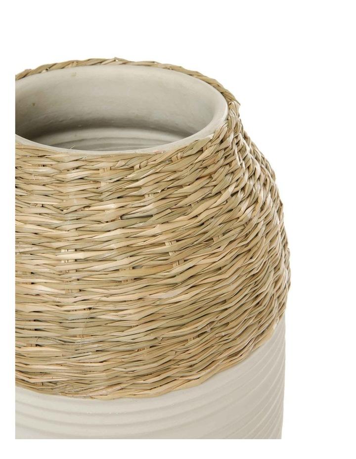 White Bronte Vase 40cm image 2
