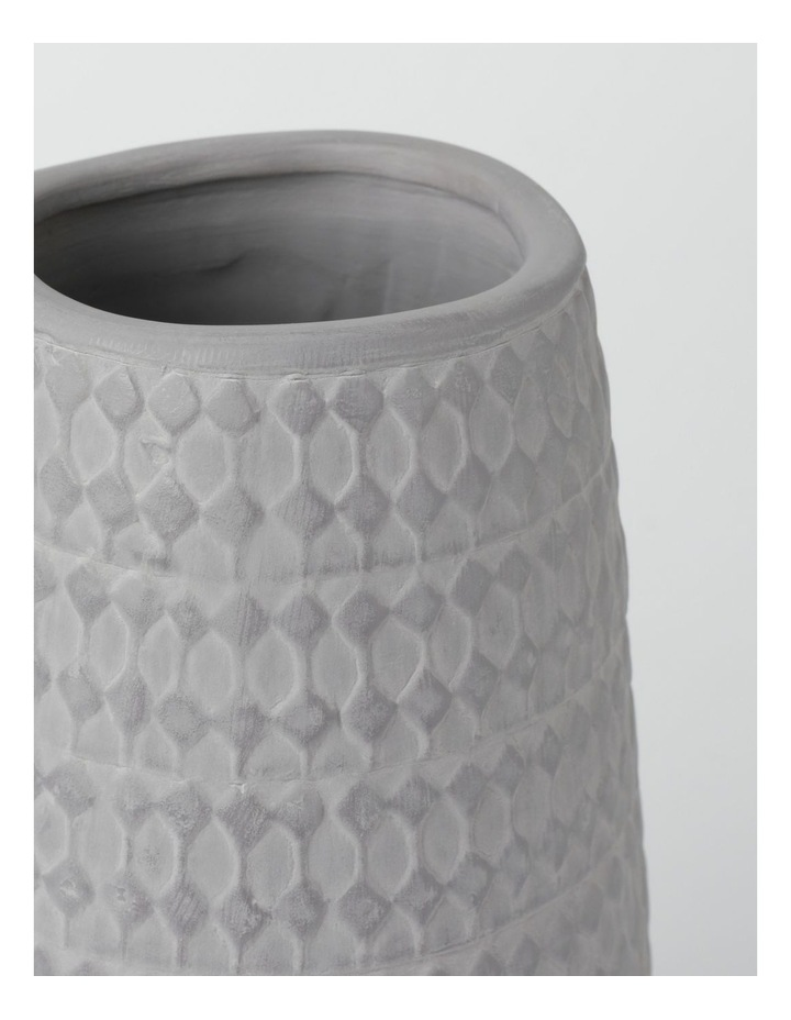 Fraser Vase Charcoal 25cm image 2