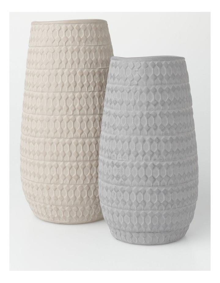 Fraser Vase Charcoal 25cm image 3
