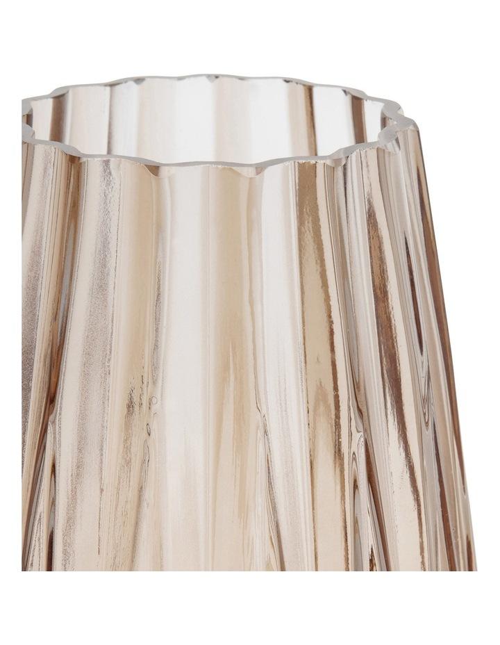 Geo Glass 17x30cm Vase image 2