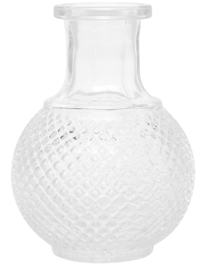 Embossed Glass Vase Small image 1