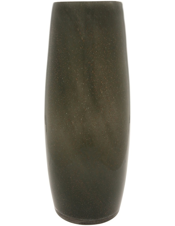 Glass Bubble Vase Grey Metallic 35.3cm image 1