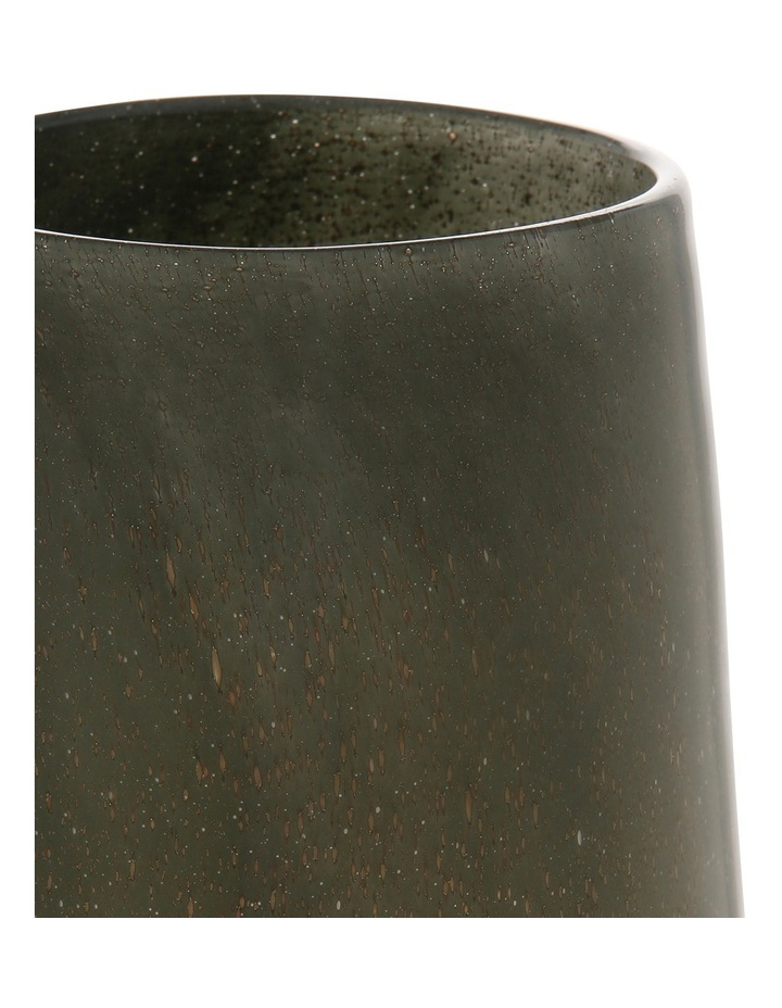 Glass Bubble Vase Grey Metallic 35.3cm image 2