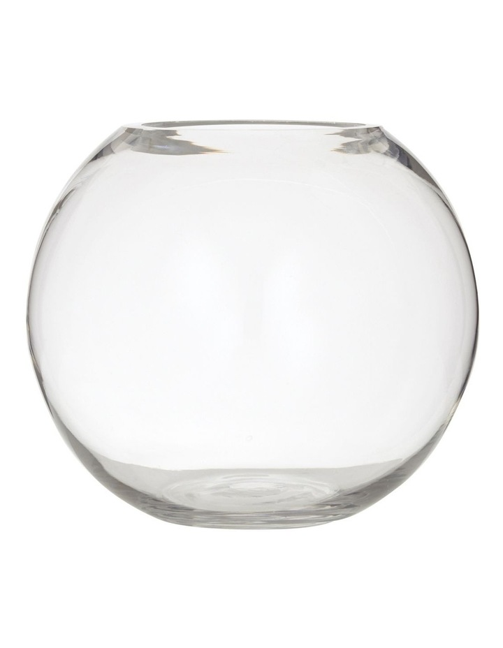 Jodie Clear Glass Vase image 1