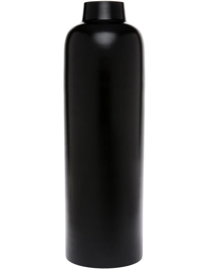 Simple Metal Large Vase Black image 1