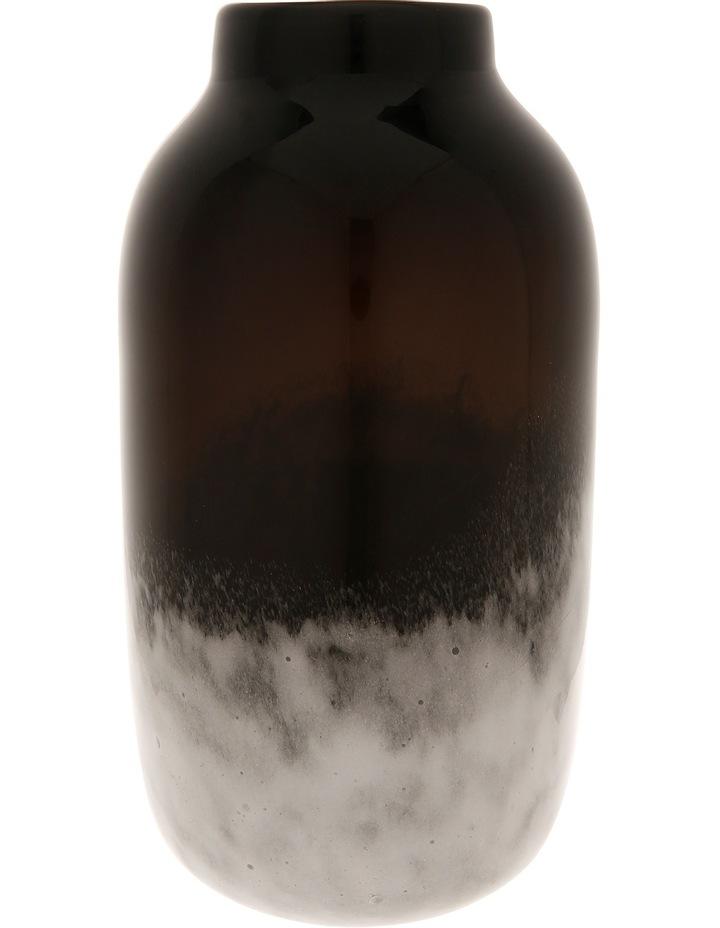 Wide Neck Glass Vase image 1