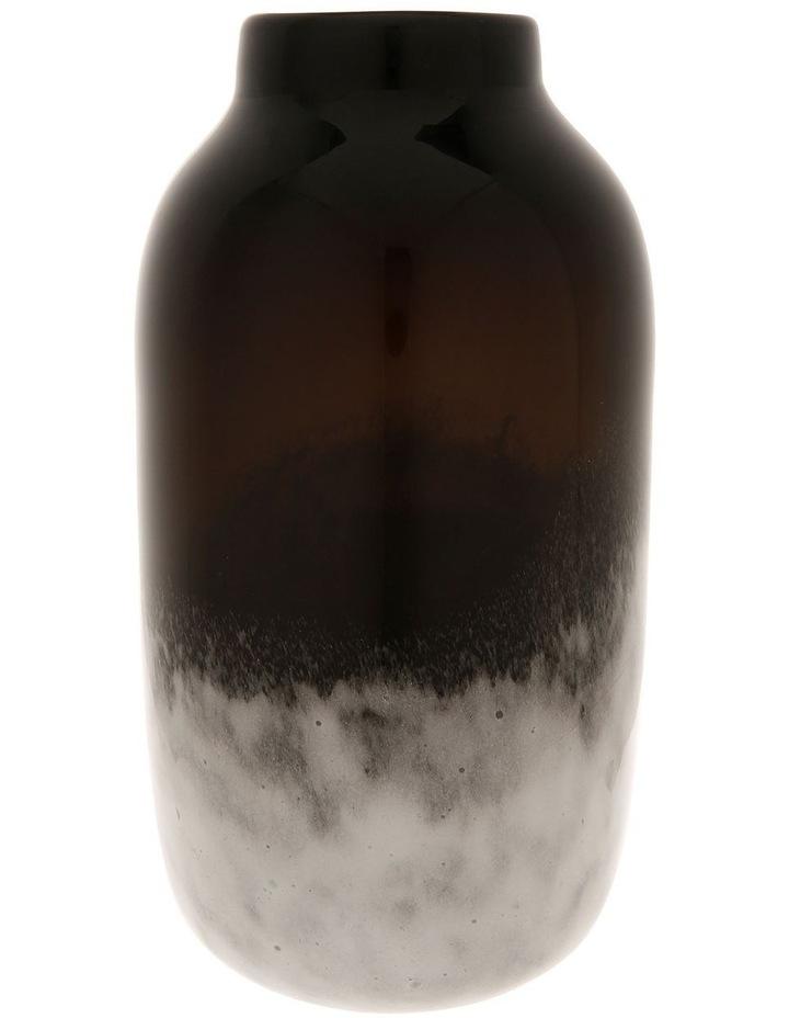 Wide Neck Glass Vase 30cm image 1