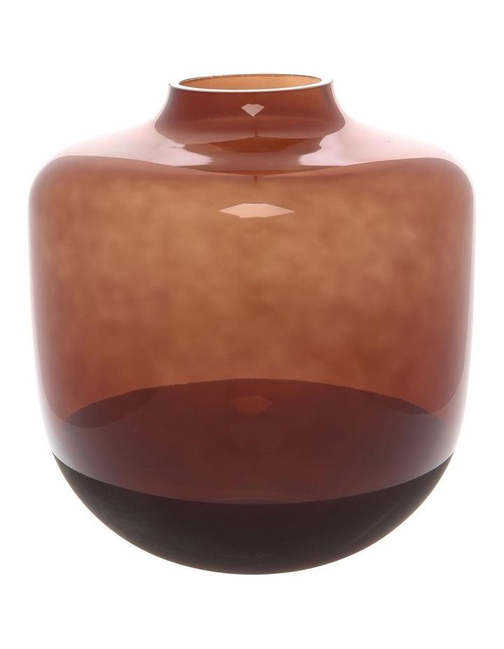 Wide Electroplated Vase 21.5cm image 1