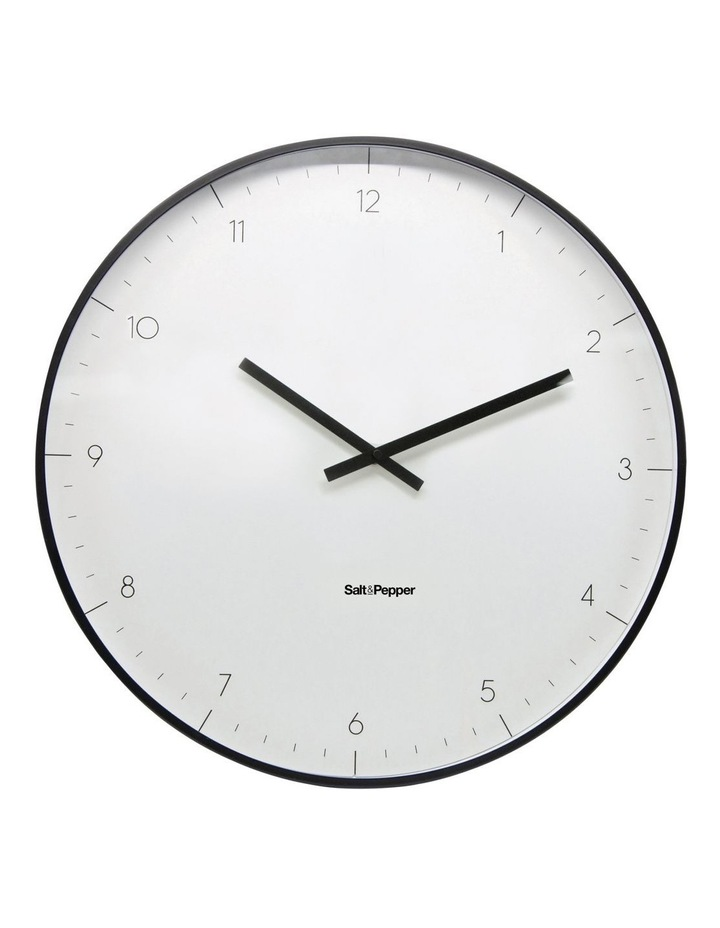 Elio White Metal Clock 53.5cm image 1