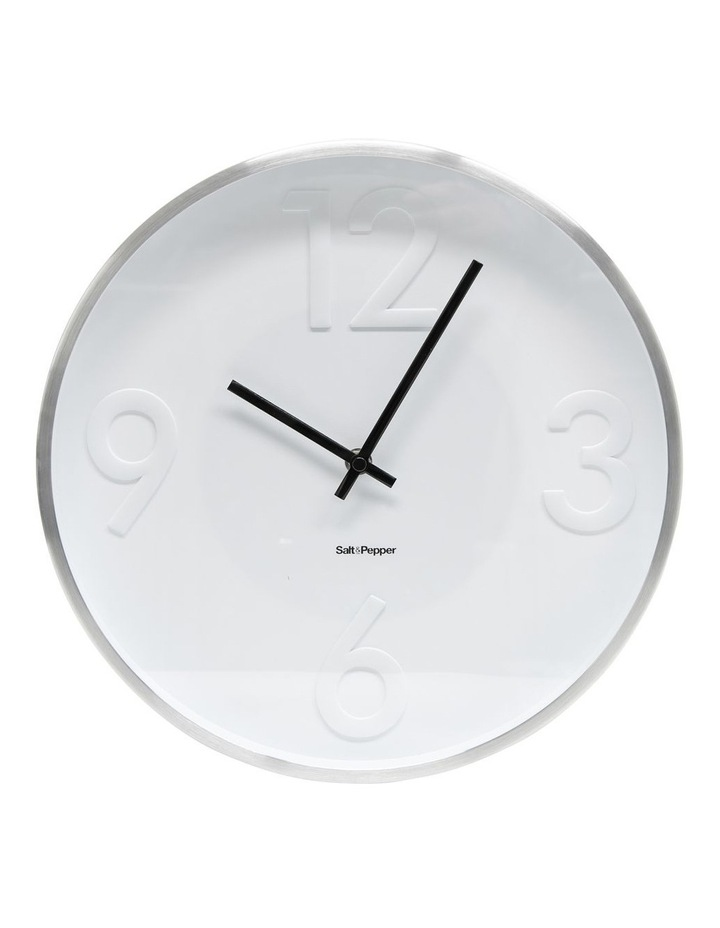 Landon Clock - 31cm - White image 1