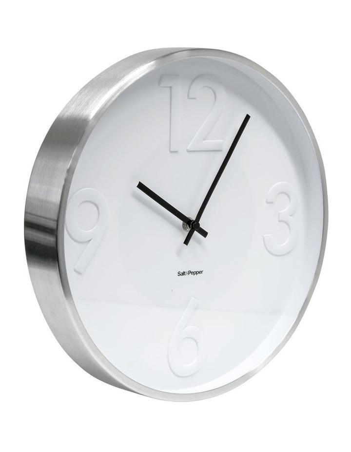 Landon Clock - 31cm - White image 2