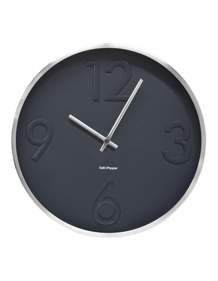 Landon Clock - 31cm - Grey image 1