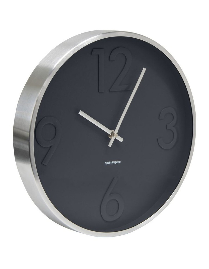 Landon Clock - 31cm - Grey image 2