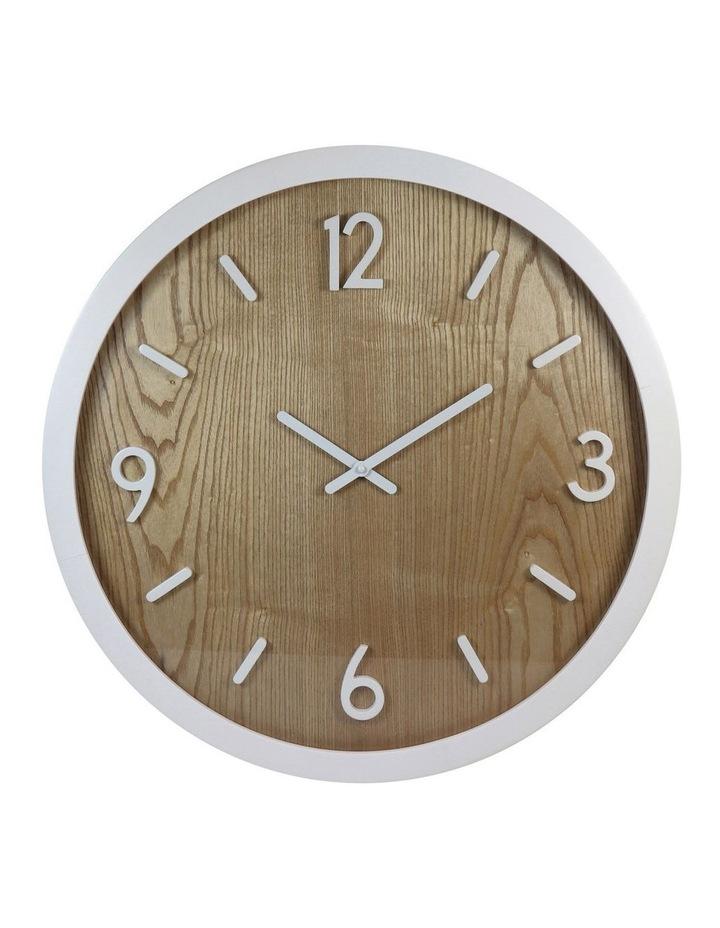 Jubilee White Oak Wall Clock image 1