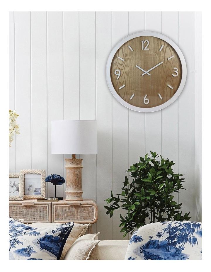 Jubilee White Oak Wall Clock image 2