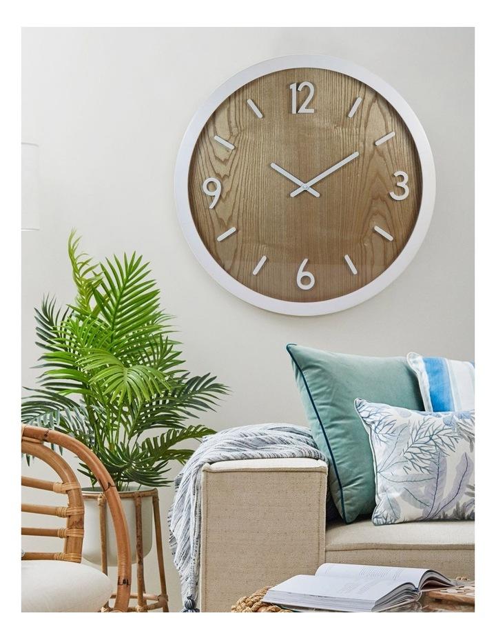 Jubilee White Oak Wall Clock image 4