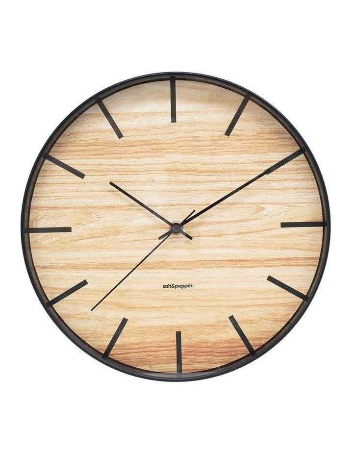 Tate Clock - 31cm - Black image 1
