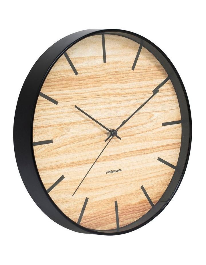 Tate Clock - 31cm - Black image 2