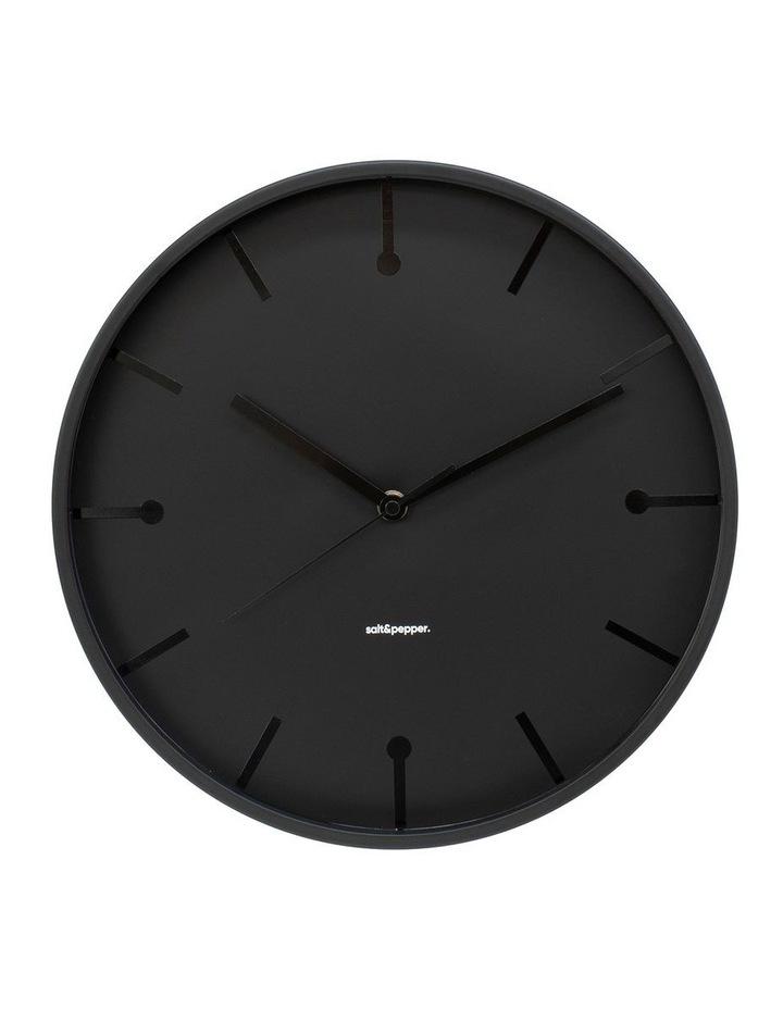 Annex Clock - 31.5cm - Black image 1