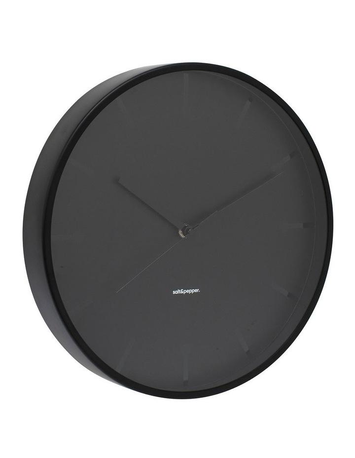 Annex Clock - 31.5cm - Black image 2