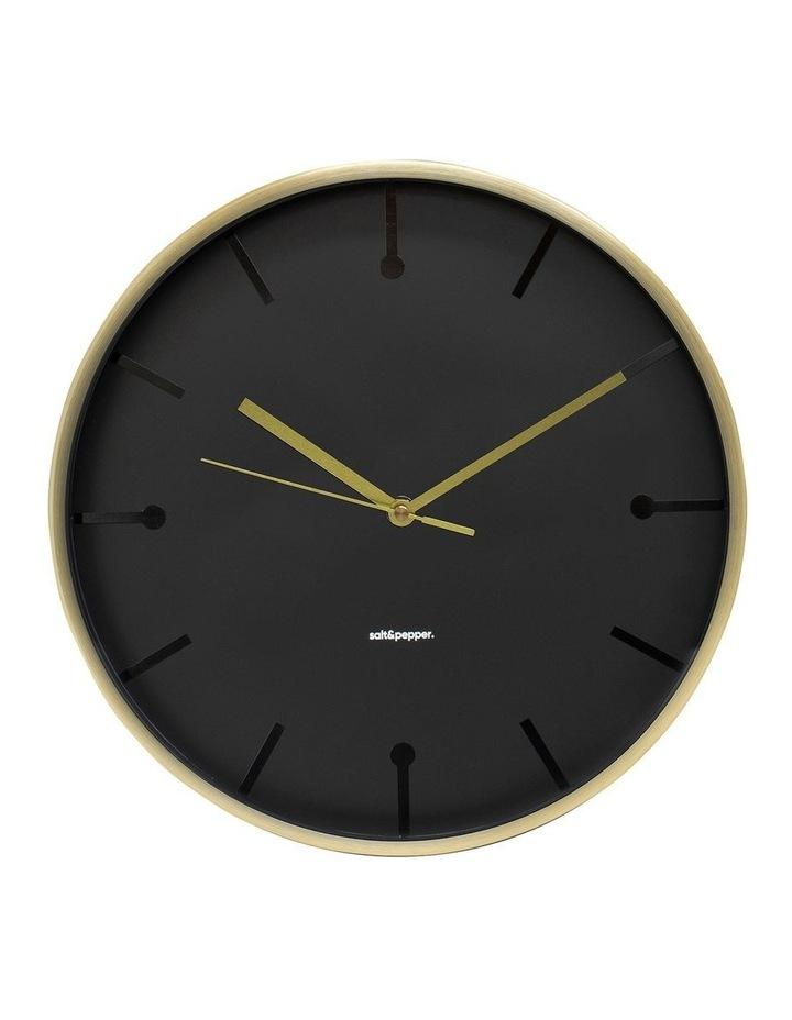 Annex Clock - 31.5cm - Gold image 1